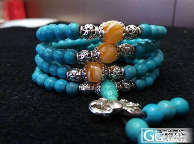 【文玩辨别攻略】购买绿松石手串的识别密招有哪三大类_珠宝