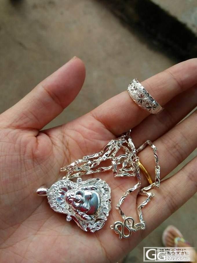 千足银手镯,心经,项链,戒指,宝宝镯..._手镯项链戒指银