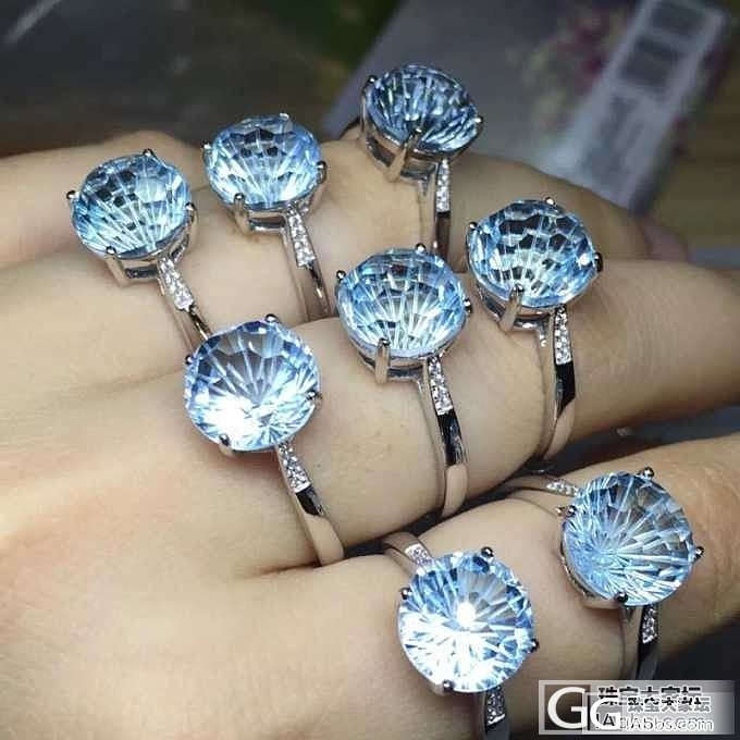 异形切割蒲公英款托帕石戒指925银镶嵌