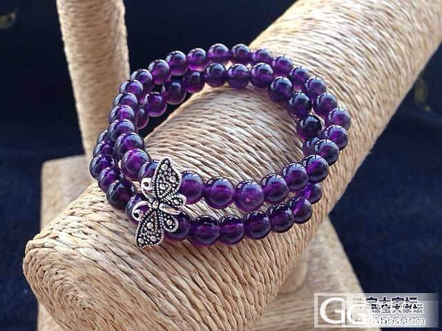 绝美紫水晶,不点后悔啊!欢迎鉴赏_珠宝