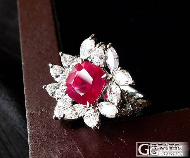 缅甸血统---天然红宝石戒指3.01ct GRS国际大证_珠宝