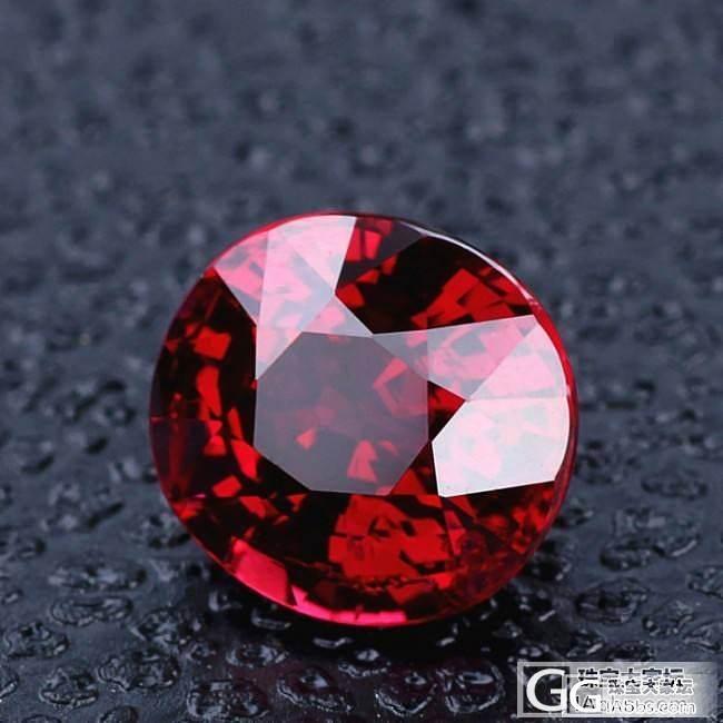 无烧  鸽血红   莫桑比克红宝石_红宝石刻面宝石