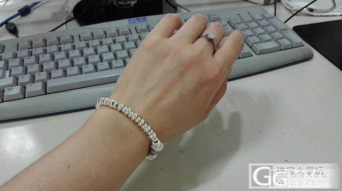 生日礼物——PH7串福手链_手链银