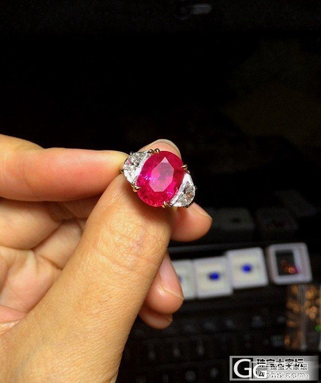 6克拉缅甸无烧红宝石,末谷特征,SSEF_戒指刻面宝石红宝石