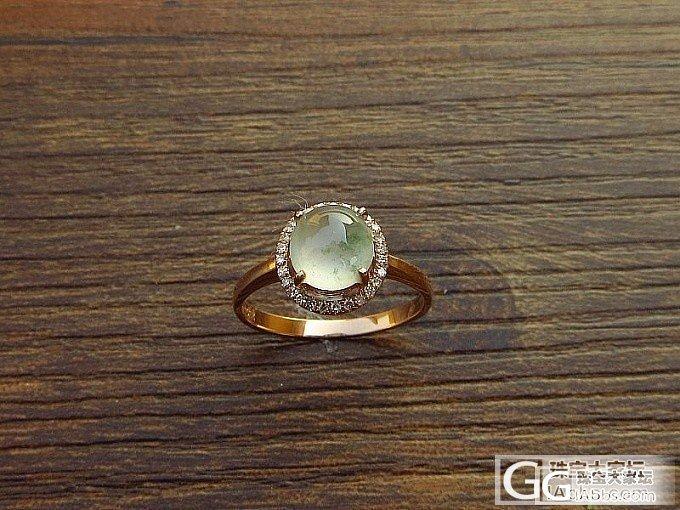 翡翠戒指 小小四,主要是性价比一流_翡翠