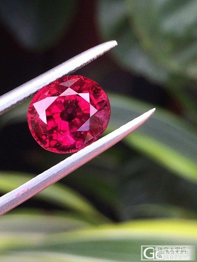 一颗小小的3.76所谓红宝碧玺英文R..._碧玺珠宝