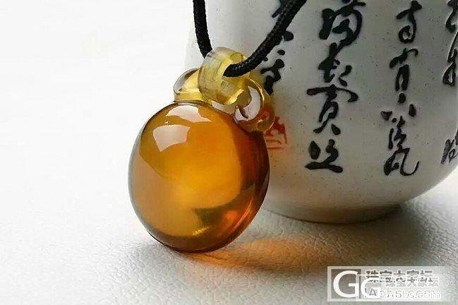 【黑珍珠翡翠】金棕珀吊坠,手串,项链_文玩