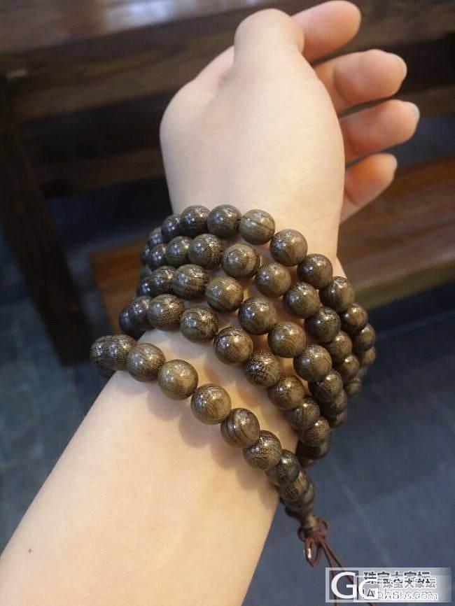 【稀饭香铺】物美价廉的阴沉木金丝楠手串_珠宝