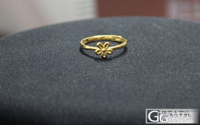 趁香港金价下跌,(13100港币/两)入手的金子~_手镯手链戒指金