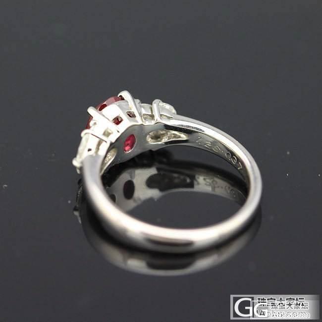 1.26缅甸红宝石戒指。
