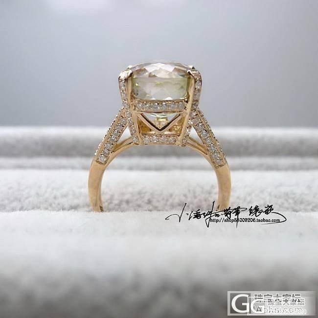 【小潘镶嵌】5.9 欧式豪华款戒指_小潘镶嵌