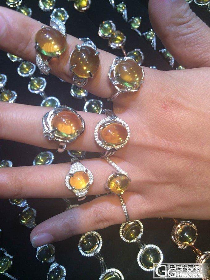 意向帖 净水金兰戒指 有想要的吗_珠宝