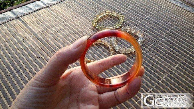吕家S999银镯、玛瑙、水沫玉四季豆/手镯_珠宝