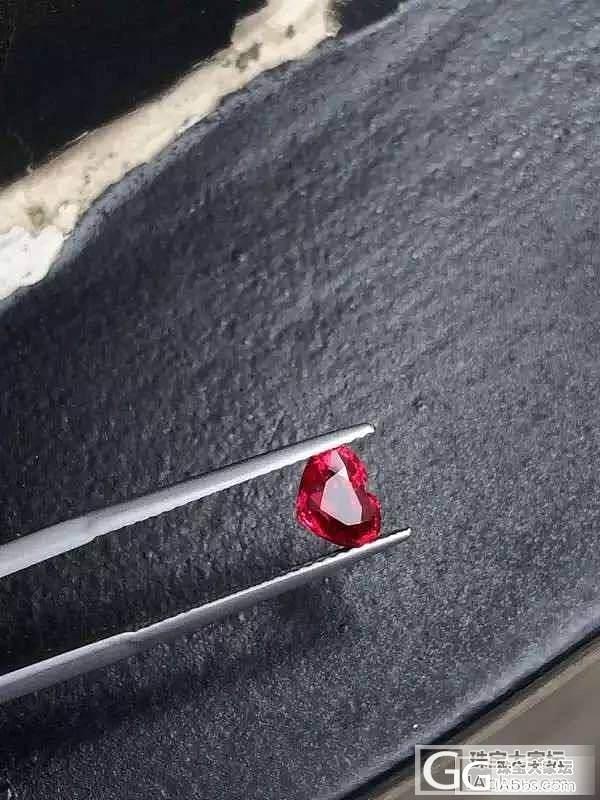 莫桑比克 无烧 红宝 高性价比 GR..._红宝石刻面宝石