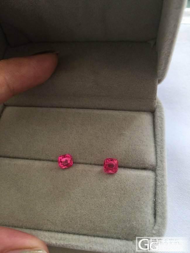 带电光感的缅甸尖晶石_刻面宝石尖晶石