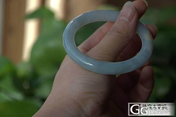 【玉玲珑】~11.2精美胖圆条手镯5条~