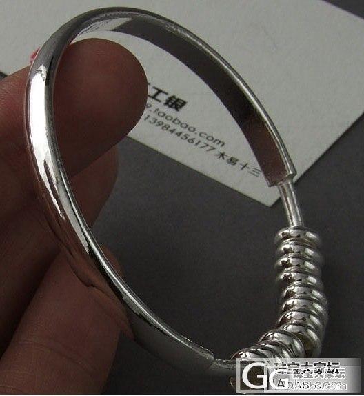 有没有JM买过这款镯子?_手镯银