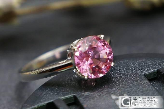 【山水彩宝】精美尖晶石戒指_宝石
