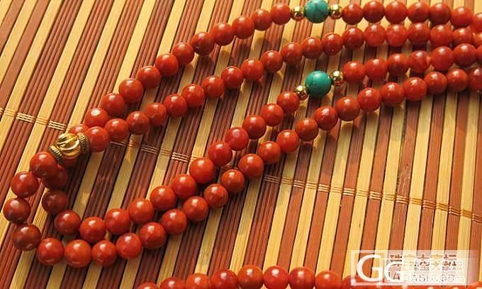 几条南红6mm珠链_玛瑙