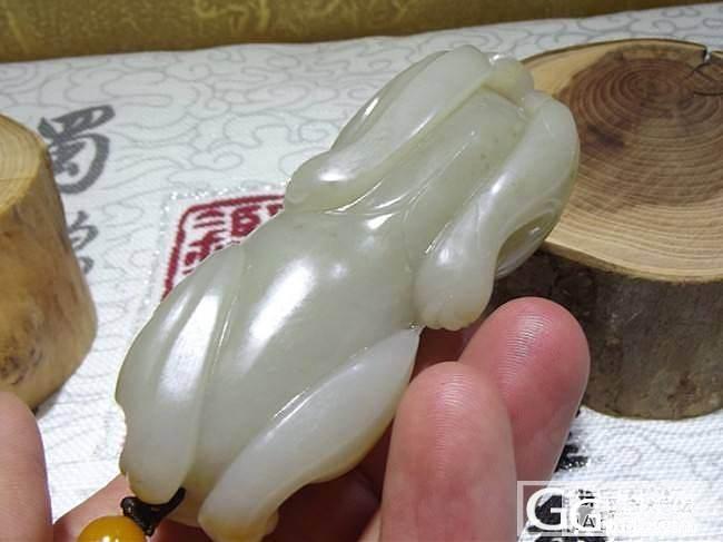 ☆【品御玉铺】☆ 新疆和田玉籽料 大兽把件 133.8克!_传统玉石