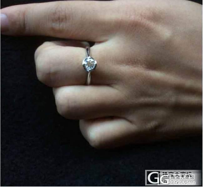 出40分钻戒(香港六福购买有凭证)_钻石