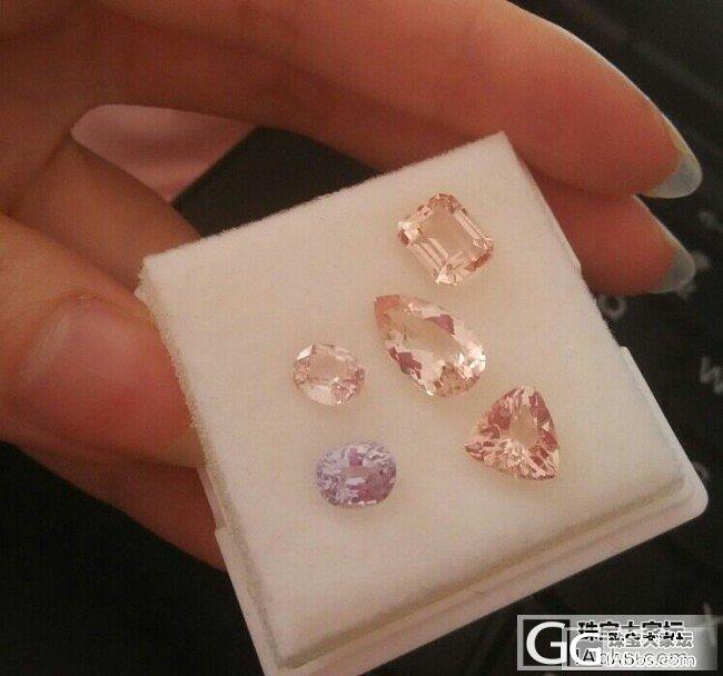 摩根、尖晶、彩色蓝宝石不知不觉买了一..._摩根石刻面宝石