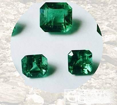 哥伦比亚祖母绿 裸石_刻面宝石祖母绿