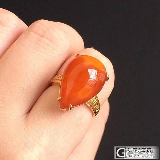 这个蜜蜡的戒指品质怎么样呢?新手想要..._戒指蜜蜡