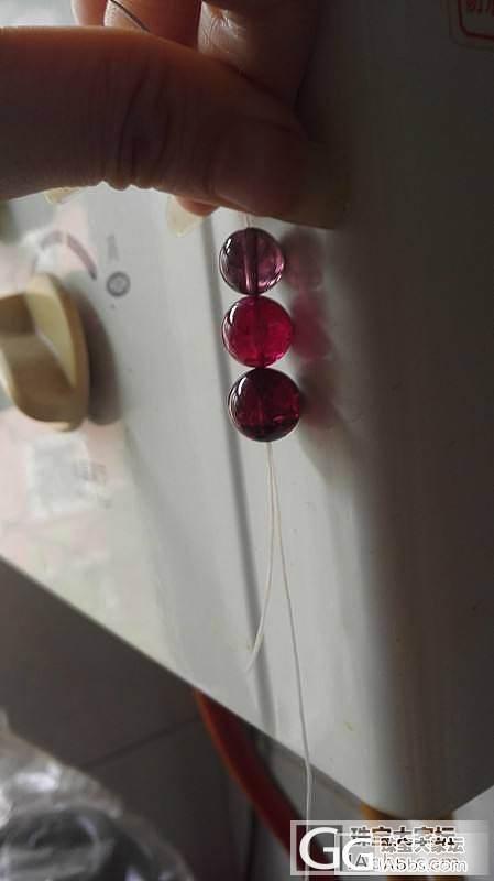 宝石红顶珠找到了,帕蓝找到了,,升级..._珠串碧玺