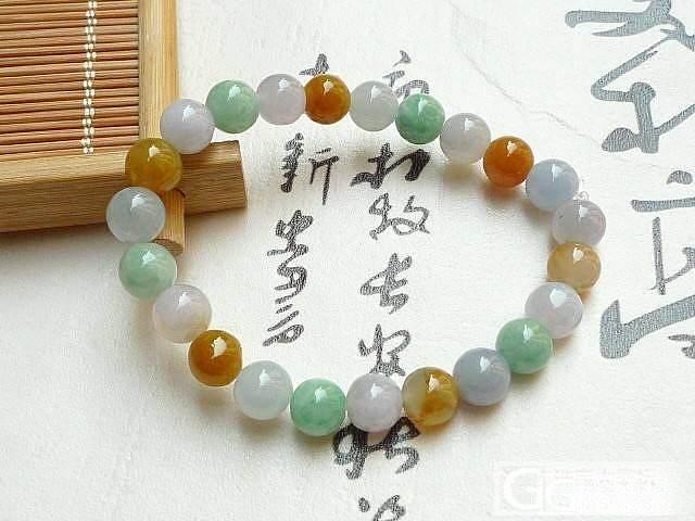 紫罗兰圆条手镯,阳绿竹节,春带彩手镯,知足常乐,三彩手链,紫罗兰福瓜_翡翠