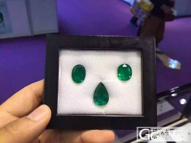 祖母绿大颗粒套装鉴赏_刻面宝石祖母绿