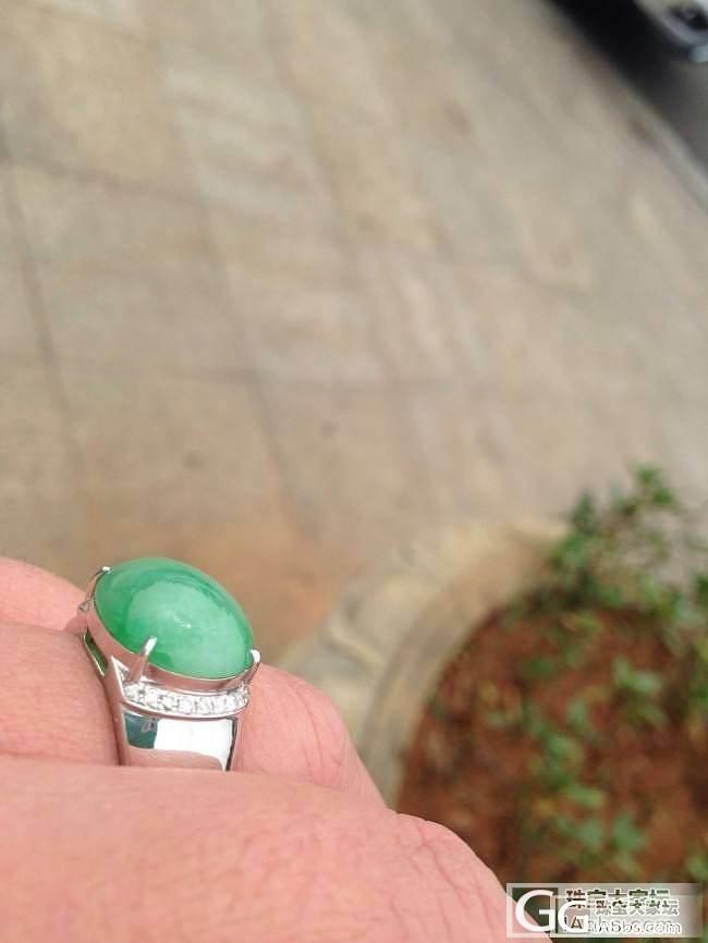 亲们,帮我估估这个戒指的价位,顺便求..._戒指翡翠