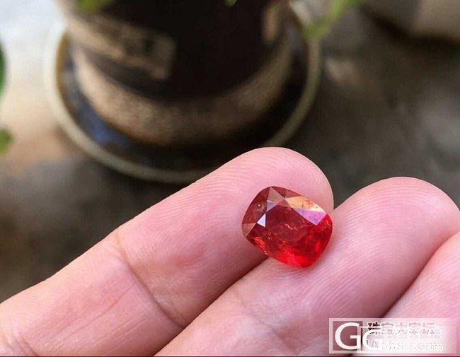 又看中这粒,有内裂,请各位帮忙参考_刻面宝石尖晶石