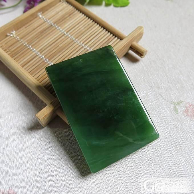 刚起货的10块波菜绿细腻油润俄碧牌~~_传统玉石