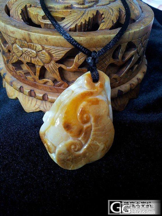 白蜜白蜜~葫芦手珠平安扣~_有机宝石