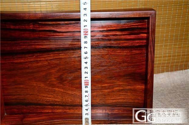 老红木文盘 传统榫卯独板料厚(第2件)_文玩