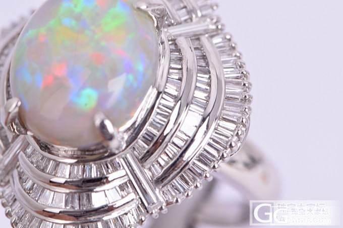 也买了个欧珀_宝石刻面宝石