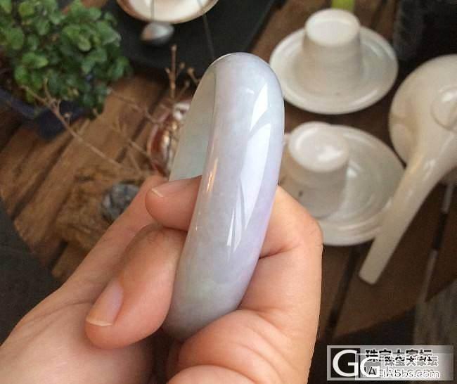 小清新到手_手镯翡翠