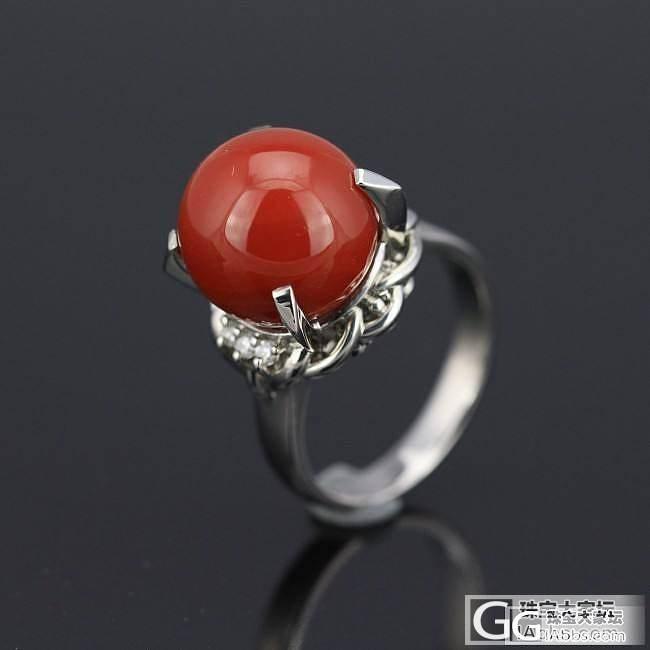 继续红珊瑚戒指,非常赞。