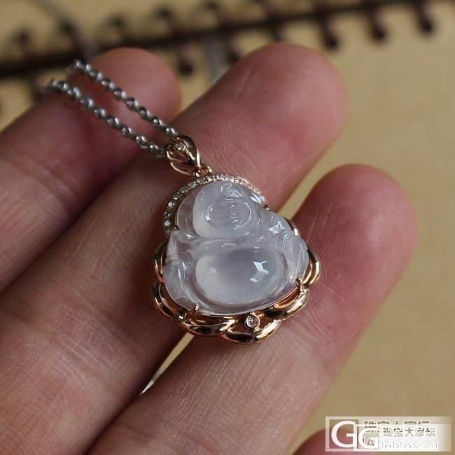 【夏夏翡翠】 18K金镶嵌 -- 耳坠 、吊坠 、戒指 ~~_翡翠