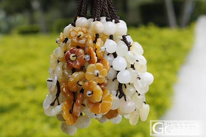 手工DIY黄龙玉包挂-配木盒包装 特惠18元一条_传统玉石
