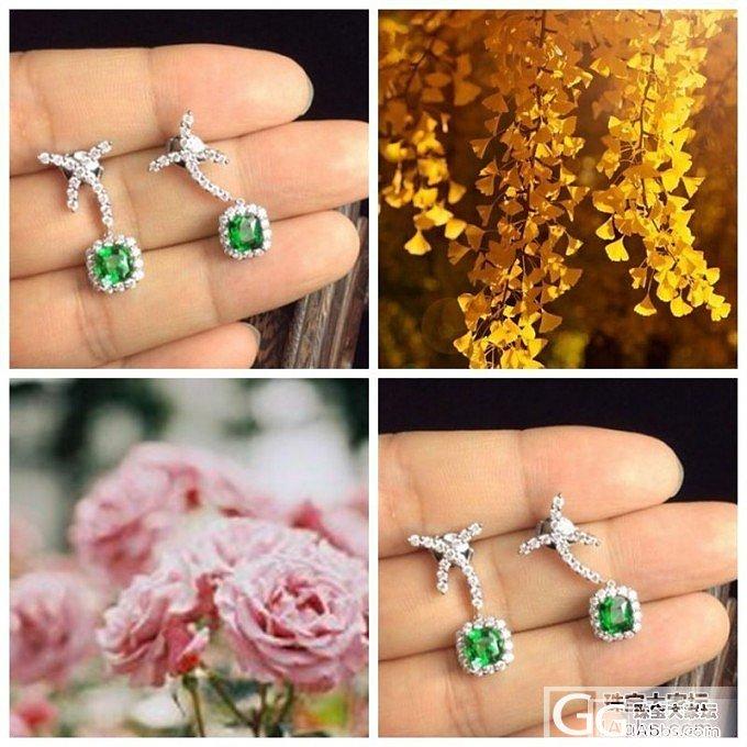 """""""爱上一个认真的消遣 用一朵花开的时间""""…#中颐VIP定制欣赏#_中颐彩色宝石"""