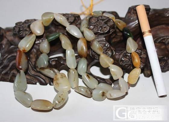 和田玉皮色籽料项链_传统玉石