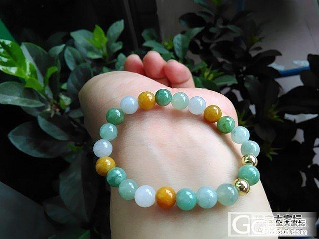 便宜清几串珠子 10MM种水珠和7...._翡翠