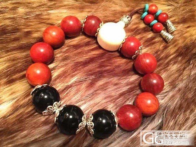 印尼血龙木手串,15mm大珠子,男女..._文玩