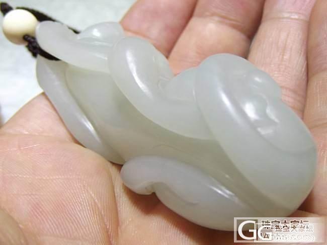 ☆【品御玉铺】☆ 新疆和田玉籽料 细润旺财 62.8克!_传统玉石