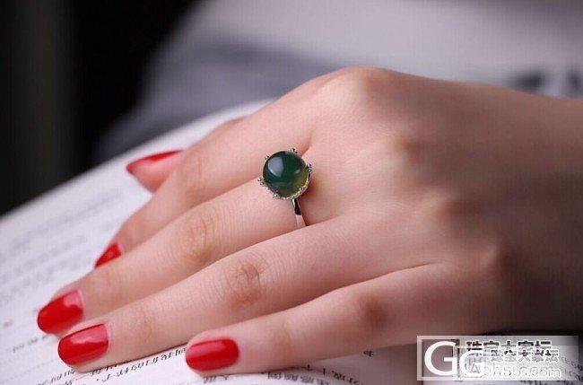 生活就是不停的买买买 蓝珀皇冠戒指开团_珠宝