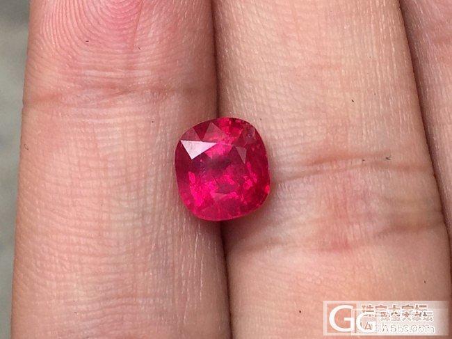 新收的2.65克拉缅甸货,准备开证书..._红宝石