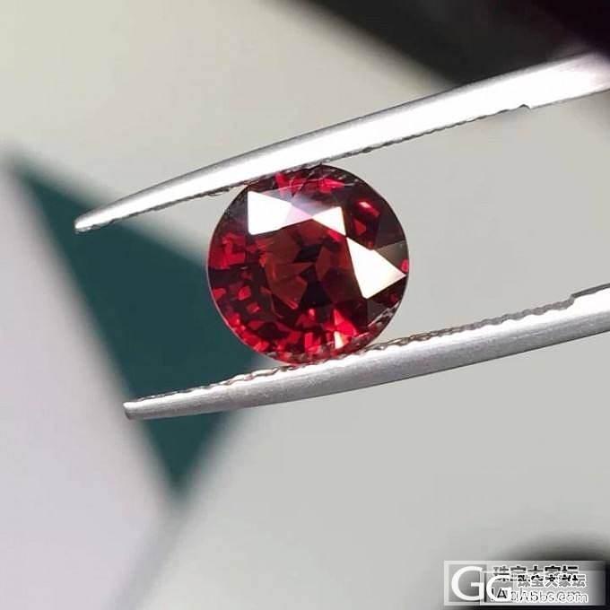 很久没见过缅甸红宝色尖晶了……_珠宝