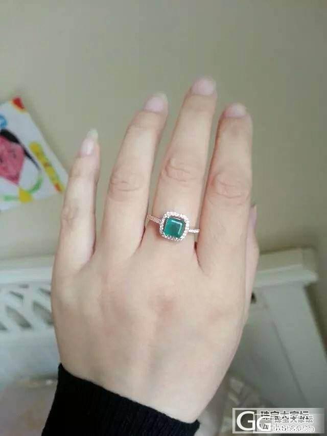 祖母绿戒指 经典款 白菜价出_宝石